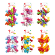 2 CURLY BOWS - MULTI (24 PACKS) PF-2782