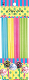 "24 PCS 6"" ASSORTED COLOR LOLLIPOP STICKS (24 PACKS) PF-2314"