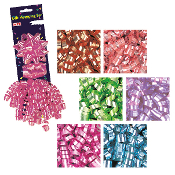 3 PCS METALLIC GIFT WRAPPING SET ASSORTED (24 PACKS) PF-7583
