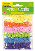 0.85 OZ SEQUINS - 6 PASTEL COLORS (24 PACKS) PF-2848