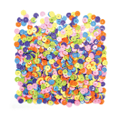1 OZ SEQUINS - MIXED NEON COLORS (24 PACKS) PF-2850
