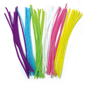 50 PC CHENILLE STEMS - PASTEL ASSORTED (24 PACKS) PF-2794