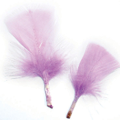 0.49 OZ LAVENDER FEATHERS (24 PACKS) PF-2470