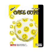 "60 PCS 4.75"" SMILEY CAKE CUPS (24 PACKS) PF-7138"