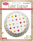 "48 PCS 4.75"" DOT CAKE CUPS (24 PACKS) PF-2777"