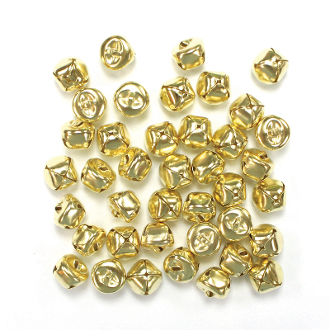 40 PC GOLD BELLS - 1.5 CM (24 PACKS) PF-2874