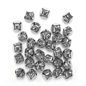 30 PC SILVER BELLS - 2 CM (24 PACKS) PF-2877