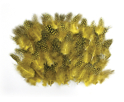 0.22 OZ FASHION FEATHER - YELLOW (24 PACKS) PF-3062