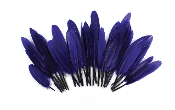 "0.22 OZ 5""-7"" GOOSE FEATHER - PURPLE (24 PACKS) PF-3082"
