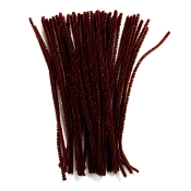 50 PC CHENILLE STEMS - BROWN (24 PACKS) PF-3367