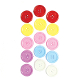 "15 PC 1.2"" BUTTONS - ASST. COLORS (24 PACKS) PF-3344"