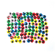 100 PC COLORFUL WIGGLE EYES - 1.2 CM (24 PACKS) PF-3528