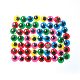 60 PC COLORFUL WIGGLE EYES - 1.5 CM (24 PACKS) PF-3529