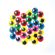 30 PC COLORFUL WIGGLE EYES - 2 CM (24 PACKS) PF-3530
