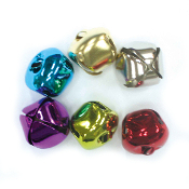 6 PC COLORED BELLS - 3.0 CM (24 PACKS) PF-3609