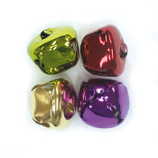 4 PC COLORED BELLS - 3.5 CM (24 PACKS) PF-3610
