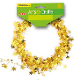 25 FT WIRE STAR GARLAND - GOLD (24 PACKS) PF-2844