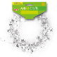 25 FT WIRE STAR GARLAND - SILVER (24 PACKS) PF-2845