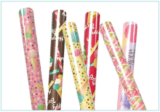 "HAPPY BIRTHDAY WRAPPING PAPER ASSORTED 30""X60""(72 ROLLS) PF-4143"