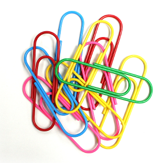 10 PCS XL PAPER CLIPS - ASSORTED (24 PACKS) PF-4115