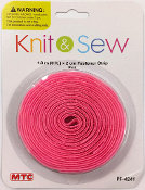6 FT X 2 CM FASTENER STRIP - PINK (24 PACKS) PF-4241