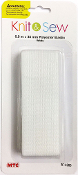 3 FT X 50 MM POLYESTER ELASTIC - WHITE (24 PACKS) PF-4268