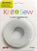 4 FT X 3 CM FASTENER STRIP - WHITE (24 PACKS) PF-4245