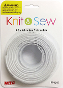 3 FT X 4 CM FASTENER STRIP - WHITE (24 PACKS) PF-4247