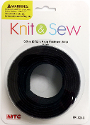 3 FT X 4 CM FASTENER STRIP - BLACK (24 PACKS) PF-4248