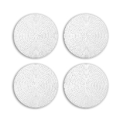 "4 PC 4.5"" ROUND PLASTIC CANVAS-CLEAR (24 PACKS) PF-4315"