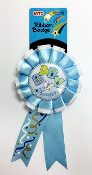 RIBBON BADGES - BABY SHOWER BLUE (24 PCS) PF-4486
