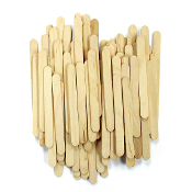 "100 PC 0.4"" X 3.75"" STICKS - NATURAL (24 PACKS) PF-3311"