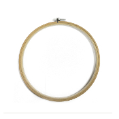 "8"" BAMBOO EMBROIDERY HOOP (8 PACKS) 38015"
