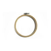 "5"" BAMBOO EMBROIDERY HOOP (8 PACKS) 38016"