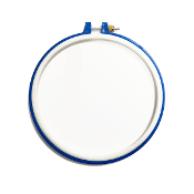 "8"" PLASTIC EMBROIDERY HOOP - ASSORTED (8 PACKS) 38018"
