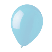"10 PCS 12"" LATEX BALLOON - LIGHT BLUE (24 PCS) PF-4504"