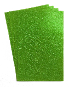 "4 PC 8""X12"" GLITTERED EVA FOAM SHEETS-GREEN (24 PACKS) PF-4347"