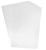 "6 PC 8""X12"" EVA FOAM SHEETS-WHITE (24 PACKS) PF-4342"