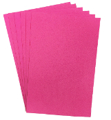 "6 PC 8""X12"" EVA FOAM SHEETS-MAGENTA (24 PACKS) PF-4339"