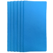 "6PC 12""X12"" NON WOVEN SHEETS-BLUE(24 PACKS) PF-4548"