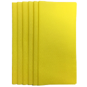 "6PC 12""X12"" NON WOVEN SHEETS-YELLOW (24 PACKS) PF-4550"
