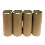"4 PC 4.5""X1.75"" CRAFT ROLLS-NATURAL COLORS (24 PACKS) PF-4539"