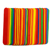 "40 PCS 6"" X 0.75"" FOAM STICKS - ASSORTED (24 PACKS) PF-4598"