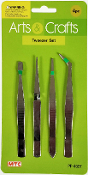 4 PCS TWEEZERS (24 PACKS) PF-4637