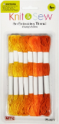 8 PCS 8M EMBROIDERY THREAD-ORANGE SERIES (24 PACKS) PF-4677