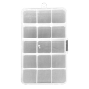 15 COMPARTMENTS ORGANIZER BOX (24 PACKS) PF-4618