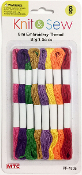 8 PCS 8M EMBROIDERY THREAD-BRIGHT COLORS (24 PACKS) PF-4705