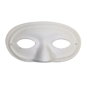 DOMINO EYE MASK-WHITE (24 PCS) PF-4796