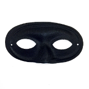 "7.5"" BLACK FACE MASK (24 PCS) PF-4422"
