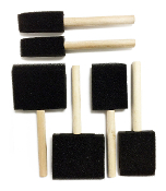 6PC FOAM BRUSHES (24 PACKS) PF-4669
